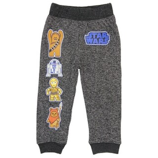 Star Wars Pajama Pants With Characters And Logo For Toddlers