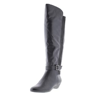 Madden Girl Womens Zilch Motorcycle Boots Faux Leather Belted