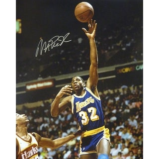 Magic Johnson Autographed Los Angeles Lakers 16x20 Photo