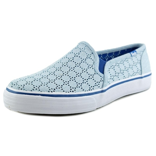 f5bb293f97a Shop Keds Double Decker Women Perforated Blue Sneakers Shoes - Free ...