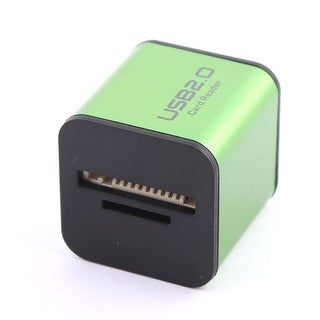 USB 2.0 Cubic M2 MicroSD MS Duo Pro Card Reader Green