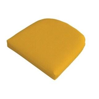 Casual Cushion Corp 373-1431 Wicker Chair Cushion, Tan