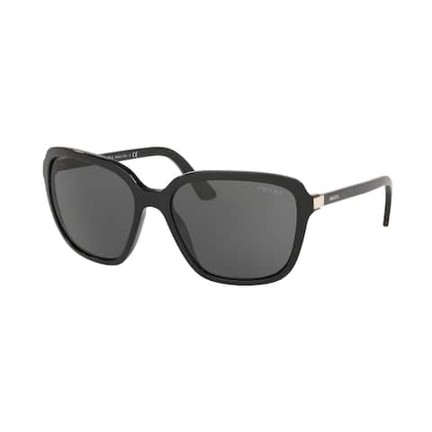 Prada PR 10VS 1AB5S0 58 Black Woman Pillow Sunglasses