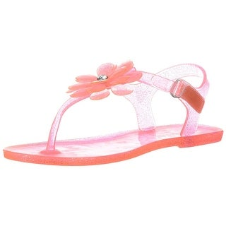 Carter's Kids Selena Girl's T-Strap Jelly Sandal - 5 m us toddler