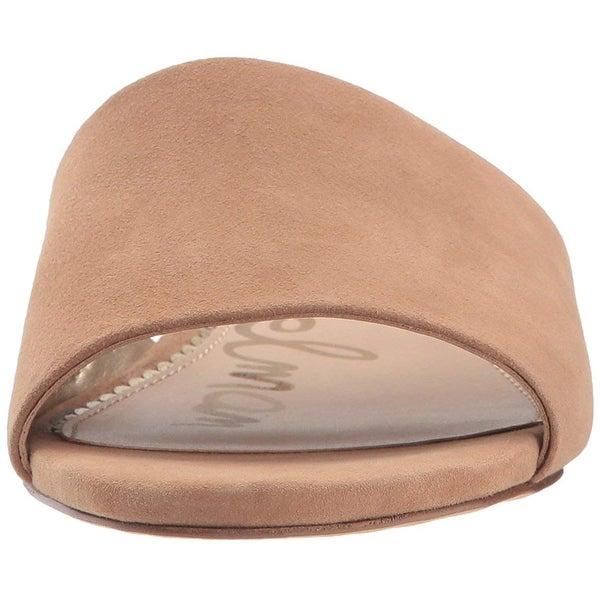 072f269b1083 Shop Sam Edelman Womens Liliana Leather Open Toe Casual Slide ...