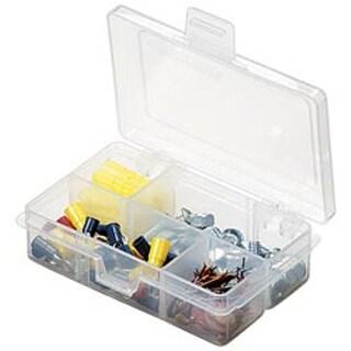 "4.625""X3.375""X1.25"" Translucent - Artbin Solutions Box 4-6 Compartments"