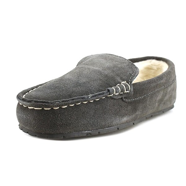 Clarks Tyler Men Synthetic Gray Moccasins