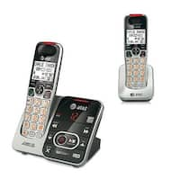 AT&T CRL32202 2 Handset Cordless Phone W/ Talking Caller ID / Call Waiting