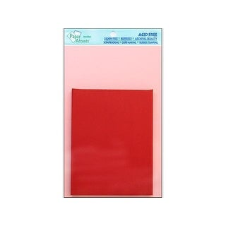 Card & Env 4.25x5.5 8pc Lt Pink/Dk Red