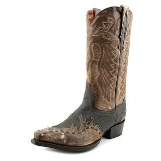 Dan Post Avitar Men Pointed Toe Leather Brown Western Boot