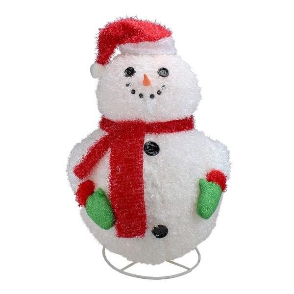 Outdoor Snowman Christmas Decorations.24 Lighted 3 D Jolly Winter Snowman Collapsible Outdoor Christmas Decoration N A