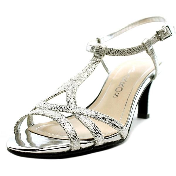 Caparros Bonita Women Open Toe Synthetic Silver Sandals