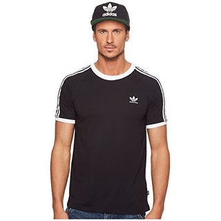 adidas Skateboarding Men's California 2.0 Tee Black/White Small