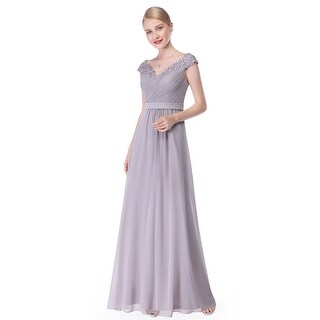 Ever-Pretty Women's Elegant V-Neck Long Party Bridesmaid Dress 08633