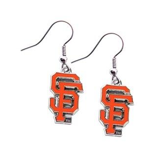 San Francisco Giants Dangle Logo Earring Set Mlb Charm Gift