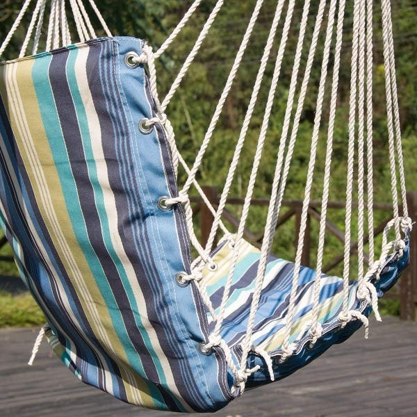 Shop Black Friday Deals On Prime Garden Hanging Rope Swing Chair Overstock 31101775