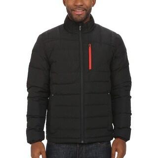 Spyder Men's Dolomite Full Zip 700 Fill Down Jacket Medium M Black & Red