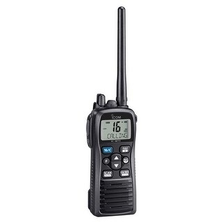 Icom M73 31 6 watt IPX8 Submersible Handheld VHF Radio