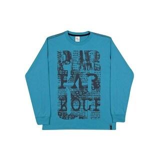Tween Boys Long Sleeve Shirt Cotton Graphic Tee Pulla Bulla Sizes 10-16 Years (Option: 14)