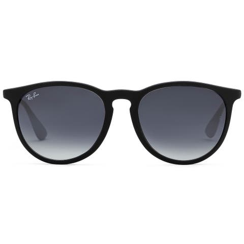 Ray-Ban 54mm Erika Wayfarers Sunglasses (Blk Frame/Gray Gradient Lens)
