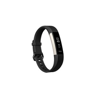 Fitbit Alta HR, Black, Large (US Version)