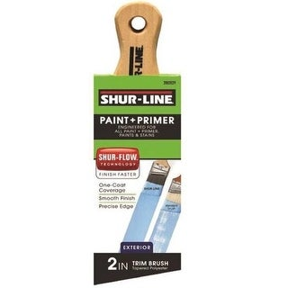 Shur-Line 2002029 Short Handle Exterior Angle Trim Paintbrush, 2