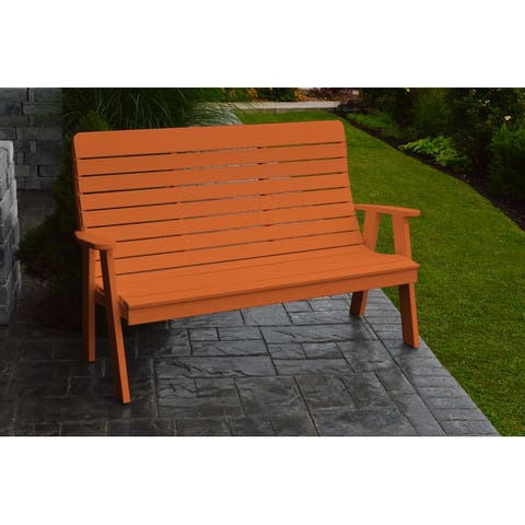 Poly 4' Winston Garden Bench