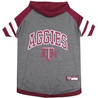 Texas A&M University Doggy Hooded Tee-Shirt