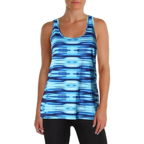 Lauren Active Womens Tank Top Tie-Dye Racer Back