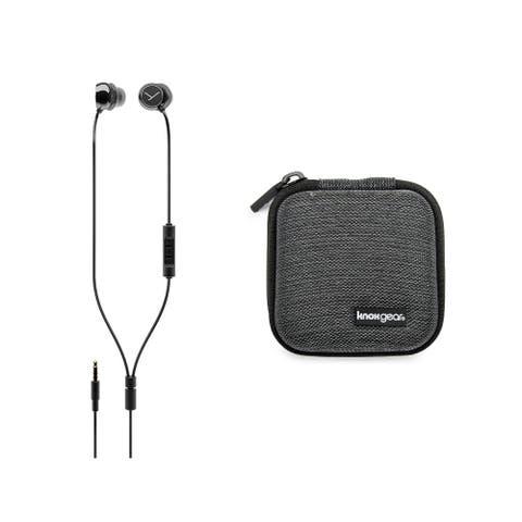 Beyerdynamic Soul Byrd Wired Premium in-Ear Headphones (Black) bundle