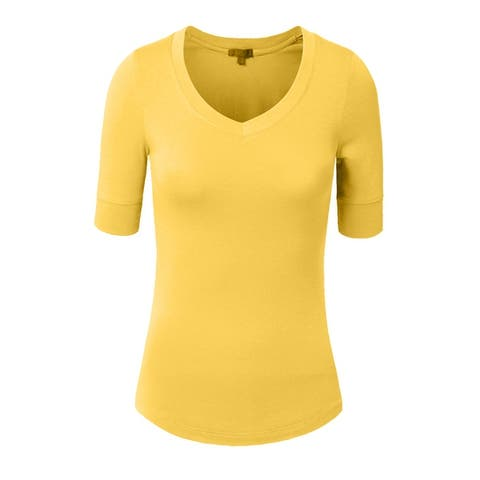 84e7c67a Yellow Tops | Find Great Women's Clothing Deals Shopping at Overstock
