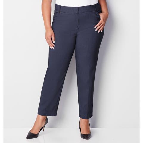 AVENUE Women's Super Stretch Trouser With Comfort Waist