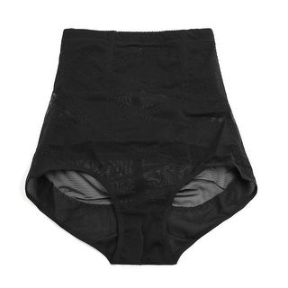 Black Size XL Postpartum High Waist Belly Tummy Control Shaping Underwear Panty
