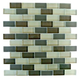 "Miseno MT-AMADAHY1X2 Amadahy - 1"" X 2"" - Glass Visual - Wall Tile (Sold by Sheet"