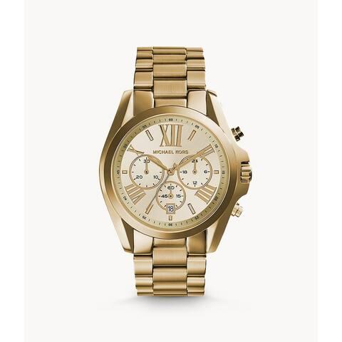 Michael Kors Gold-Tone VC Bradshaw Watch - N/A