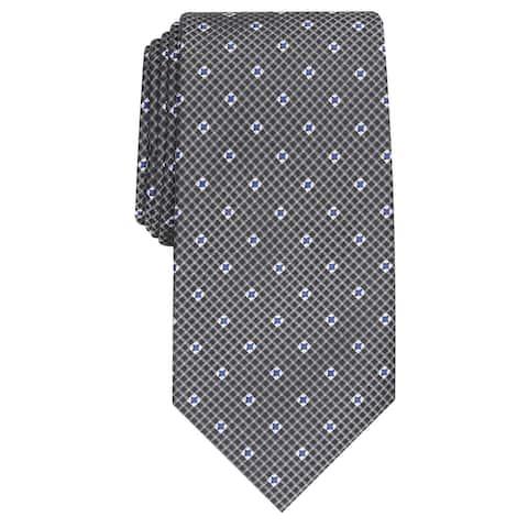Perry Ellis Men's Howland Neat Tie Black Size Regular