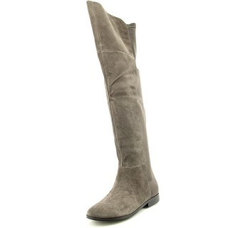 Chinese Laundry Riley Women Round Toe Suede Over the Knee Boot