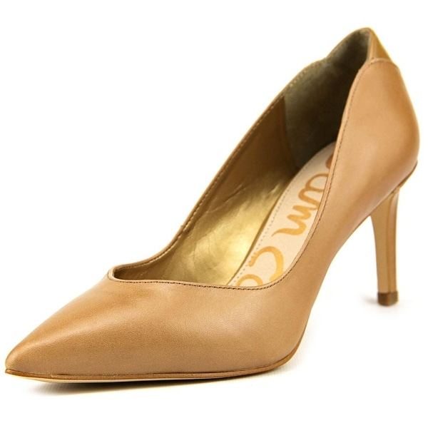 be1e5140ea Shop Sam Edelman Orella Women Camel Pumps - Free Shipping On Orders Over  $45 - Overstock - 14346497