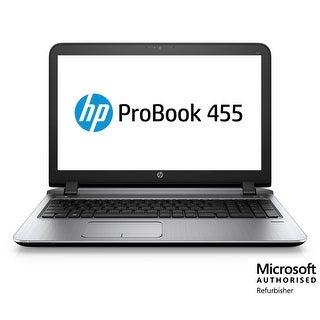 Refurbished HP 455 G3 AMD-A4-7210 1.8 8GB 500GB Windows 10 Pro