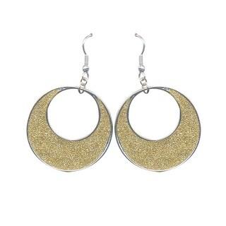 max & MO Sparkle Circle Earring