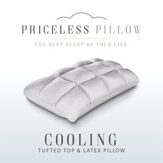 Link to Cooling Latex Bed Pillow Talalay Tufted Top Standard - White Similar Items in Pillows