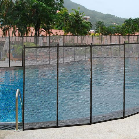 Costway In-Ground Swimming Pool Safety Fence Section Accidental