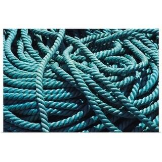 """""""rope"""" Poster Print"""