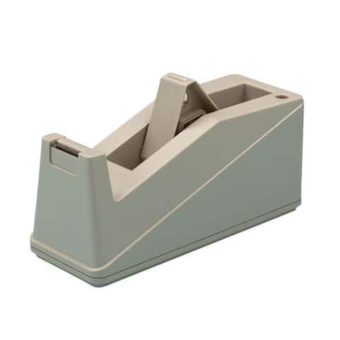 Alvin Contemporary Design Plastic Heavy Duty Tape Dispenser - Light Gray