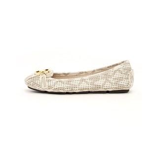 MICHAEL Michael Kors Womens Fulton moc Canvas Square Toe Loafers