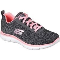 Skechers Women's Flex Appeal 2.0 Training Sneaker Black/Coral