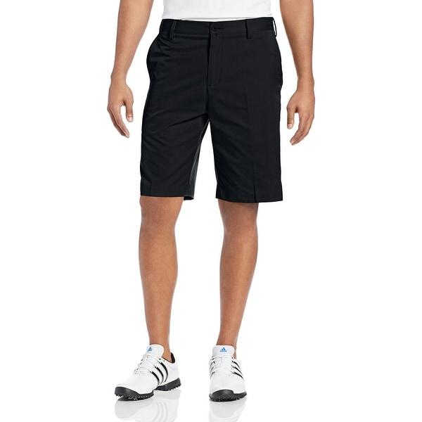 Adidas Men's Flat Front Black/Lead Shorts Z76155