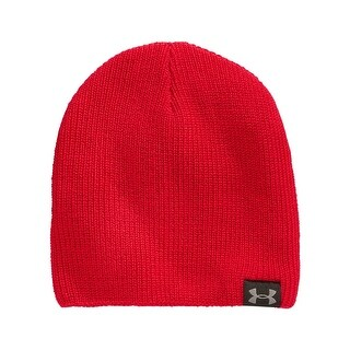 Under Armour Performance Basic Knit Beanie Bright Red One Size Fits All