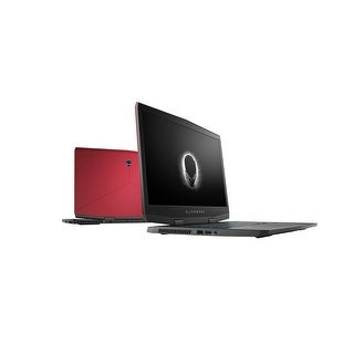 "Dell Alienware m15 Intel Core i7-8750H X6 4.1GHz 16GB 1.3TB 15.6"" Win10, Red (Certified Refurbished)"
