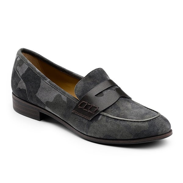 Shop G.H. Bass & Co. Womens Emilia Leather Penny Loafer ...